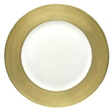 Richard Ginori Charger Plate with Gold Rim